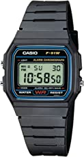 Casio Collection Unisex-Armbanduhr F91W1YER