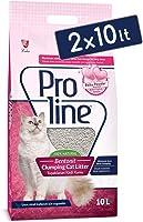 Pro Line Clumping Cat Litter Topaklanan Kedi Kumu Bebek Pudralı 10 Lt