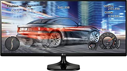 LG 25 inch (63.5 cm) Ultrawide LED Monitor - Full HD, IPS Panel with, HDMI, Audio Out, Heaphone Ports - 25UM58 (Black)