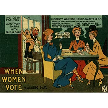 A3//A4 Size Votes for women vintage Women/'s Lib advert Art old Posters
