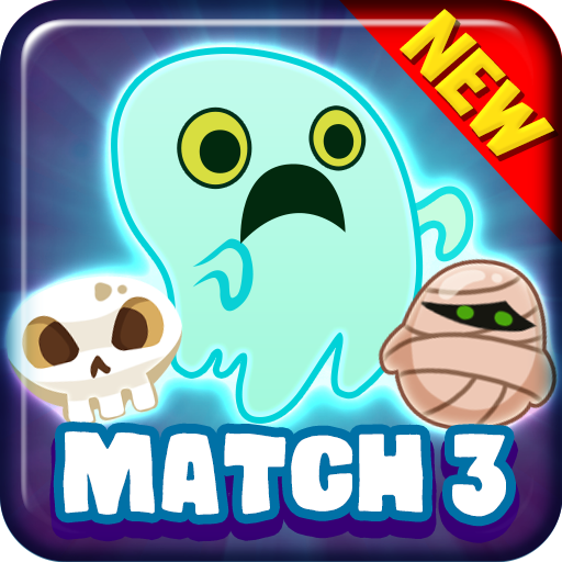 Ghost Blast : Match 3 Puzzle King -
