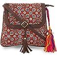 Vivinkaa Sling Bags for Women Latest Branded, Sling Bag, Sling Bag Women I Printed, Red
