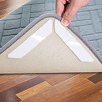 Hosung Antirutschmatte Teppiche, 16 Stück Waschbar Antirutschmatte für Teppich Wiede Rverwendbar Teppichunterlage…