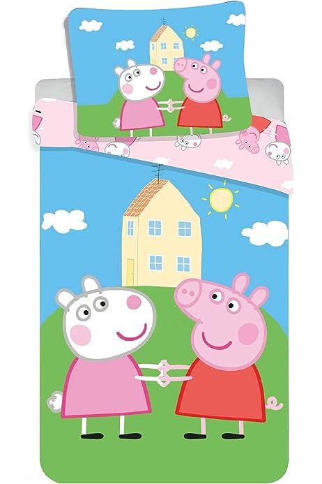 Jerry Fabrics 8500 Peppa Pig - Juego de Funda nórdica y Funda de ...