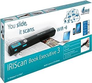 Iris Iriscan Book Executive 3 Scanner Schwarz Elektronik
