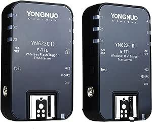 Yongnuo Yn 622 C Wireless Ii 622ii 1 8000s E Ttl Radio Remote Flash Trigger For Canon Camera With Namvo Diffuser