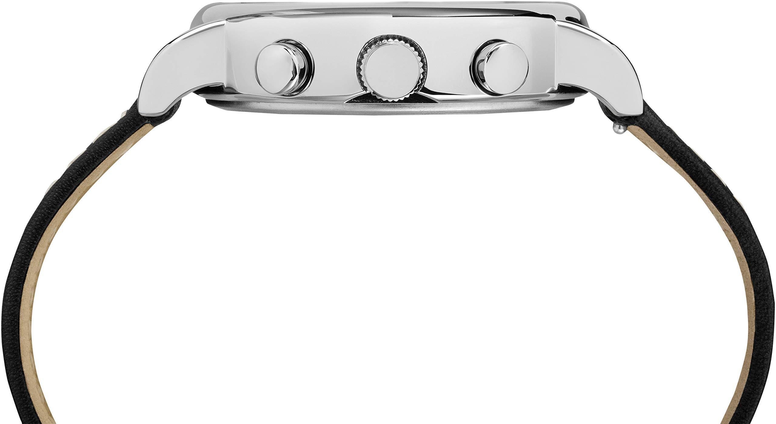 7f970d5f5c62 Inicio   Marcas   Timex   Timex Reloj Cronógrafo para Unisex Adultos de  Cuarzo con Correa en Cuero TW2R42800