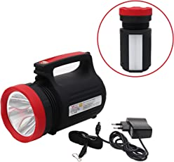 Livzing Handheld Torch Spotlight Table Lamp Portable Flashlight USB Rechargeable For Indoor Outdoor Super Bright 5W LED