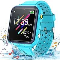 Smooce Smartwatch Kinder Telefon,Wasserdicht Musik Smartwatch für Kinder,Kinder Smartwatch mit 11 Spiele SOS Anruf…