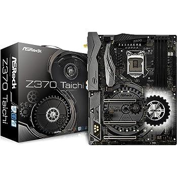 ASRock Z370 Taichi - ATX Motherboard for Intel Socket 1151 CPUs