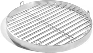 Best Unisexs BBQ Swivel Grill-Silver 50 cm