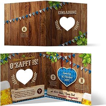 Einladungskarten Zum Geburtstag 30 Stuck Bayrisch Oktoberfest