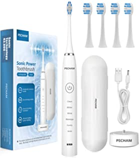 Electric Toothbrush Sonic, Adults and Kids Electronic Tooth