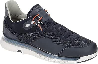 Geox Uomo Sneaker, Scarpe Sportive LEVITA, Uomini Slip-on,Removable Insole