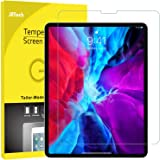 JETech Screen Protector for iPad Pro 12.9-Inch (2020 and 2018 Model, Edge to Edge Liquid Retina Display), Face ID Compatible,