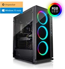 Kiebel Gaming PC Dragon R2 - Gamer PC mit Ryzen7 2700X 8x 3.7GHz (4.3GHz Turbo), Komponenten frei wählbar: bis Geforce RTX 2080 Grafik, bis 64GB DDR4-3000, bis 2TB Samsung 970 M.2 SSD, Gamer Computer individuell zusammenstellbar mit Konfigurator