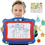 NextX Zuabertafel Große Magnetische Maltafel für Kinder ab 3 Jahren - Pädagogische Spielzeug-Geschenkset mit 5 Form…