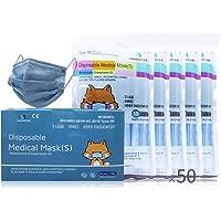 YINHONYUHE Medizinische Einwegmasken Für kinder Ce Zertifiziert, 50 Einheiten, Farbe, BFE ≥ 98%, EN 14683: 2019 + AC…
