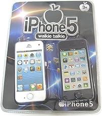ARB SPRINGTAL I Phone 5 Style Look WALKIE Talkie ( 2 Piece ) for Kids, Black Colour