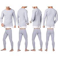 BestBuy-Shop Set di biancheria intima termica da uomo, biancheria intima da sci, per autunno e inverno, da sci…