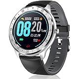 CanMixs Smartwatch fitness, pełny, ekran dotykowy, wodoszczelny IP67, CM13 Bluetooth, smartwatch, sportowy zegarek z krokomie