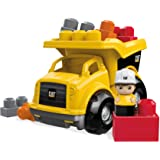 Mattel Mega Bloks First Builders CND88 CAT Kipplaster