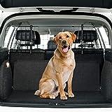 Toozey Rete per Cani Auto, SUV Universale - Protettiva Divisorio Auto per Cani con Supporto per Poggiatesta - E-Book Gratuito
