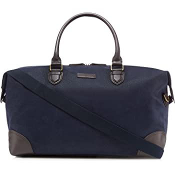 J By Jasper Conran Mens Navy Textured Holdall Bag One Size  J by ... d889f526673d4