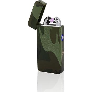 tesla lighter t03 elektronisches usb lichtbogen feuerzeug camouflage k che haushalt. Black Bedroom Furniture Sets. Home Design Ideas