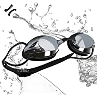 VETOKY Swimming Goggles, Racing Swim Goggles UV Protection No Leaking Anti Fog Crystal Clear Vision for Adults, Men…