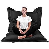 B58 Sitzsack Rechteckig Riesensitzsack Beanbag Sitzkissen Indoor Outdoor Sitzsäcke Kinder Bodenkissen Erwachsene…