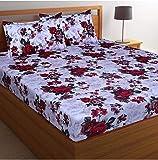 inovamall Cotton 144 TC Bedsheet (Standard_Multicolour)