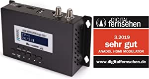 Anadol Hdmi Modulator Single Hdmi To Dvb T Black It Elektronik