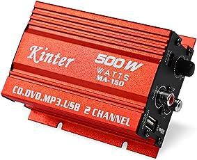 Elephantboat Kinter MA - 150 20W x 2 5V Mini Hi-Fi Stereo Digital Power Amplifier MP3 Car Audio Speaker