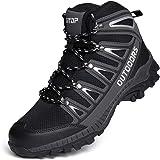 Scarpe da Trekking Uomo Scarpe da Escursionismo Calzature da Escursionismo da Uomo Scarponcini da Uomo