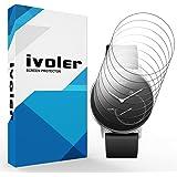 iVoler [Pack de 8] Protection écran pour Nokia Steel, Couverture Complète [Liquide Installation] [Anti-Rayures] [sans Bulles] TPU Film Protecteur HD Transparent