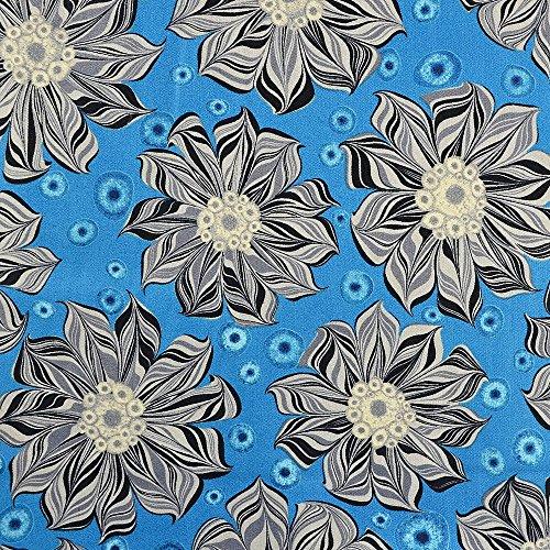 Quilting patchwork Craft tessuto piramide Swirls Dusty beige e grigio modello di tessuto Freedom top quality 100% cotone design britannico per cucito, quilting e patchwork projects-lovely Quilt stampa per lenzuola tende arredo abbigliamento-Prezzo di quarto metro. Blue and