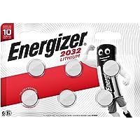 Energizer 3 Volt Lithium CR2032 Batteries - Pack of 6