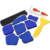 12 Stuks Silicon Sealer Tool Kit Grout Remover Caulking Tool Kit met Plastic Scraper Caulk Nozzle en Caulk Caps voor Keuken B