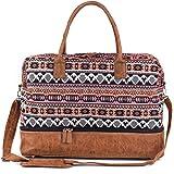 Damen-Reisetasche aus Segeltuch mit Schuhfach