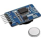 AZDelivery Reloj en tiempo real Modulo RTC DS3231 y bateria incluida I2C compatible con Arduino y Raspberry Pi con E-Book inc