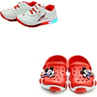 BOOMER CUBS Unisex-Baby's Clog (Set of 2 Pairs)