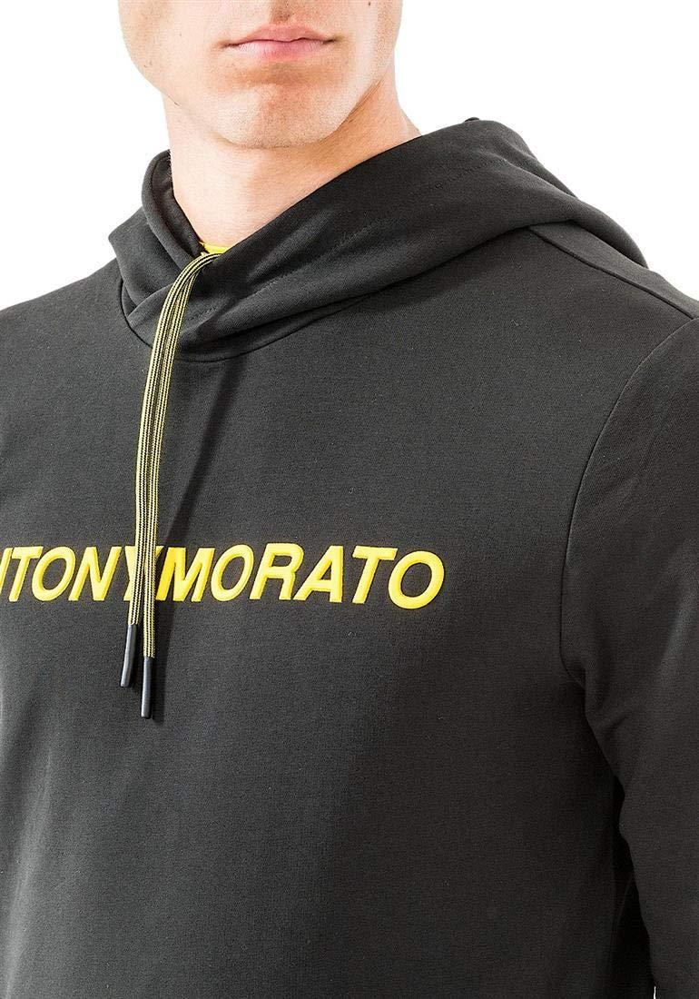 Antony Morato Sudadera 9000 Felpa con Cappuccio E Stampa L