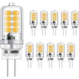 G4 LED-lamp 3W gelijkwaardige 20W halogeengloeilampen, warm wit 3000K, g4 fitting energiebesparing, geen flikkering, niet dim