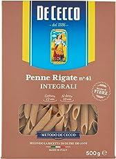 De Cecco Penne Rigate Integrali - 6 pezzi da 500 g [3 kg]