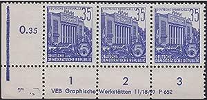 Goldhahn DDR Nr 2864-2867 DV gestempelt Druckvermerk Briefmarken f/ür Sammler