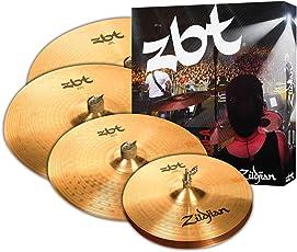 """Avedis Zildjian Company ZBT 5 Cymbal Box Set 14"""" 16"""" 20"""" 18"""" ZBTP390A"""