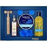BodyHerbals Lavender Collections Gift Set For Birthday, Anniversay & Wedding (Lavender Shower Gel 200ml, Lavender Body Polish