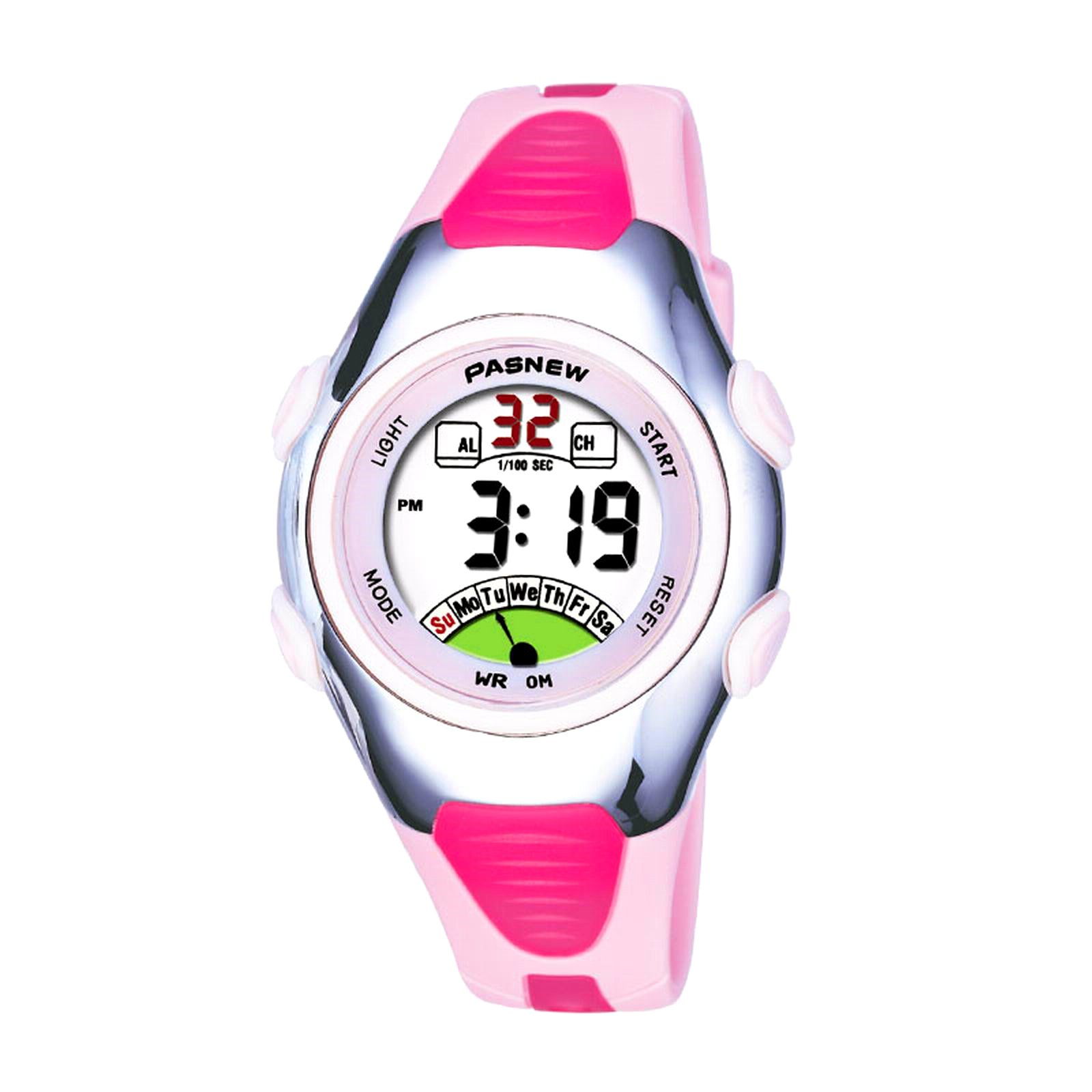 Pasnew Kids Digital or Analog Watch for Girls Watch Child Watch Kids Watch Quartz Watch Wrist Watch