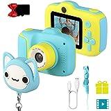 JAMSWALL 1080P HD Bambini Fotocamera Selfie Macchina Fotografica 18MP Videocamera con Scheda 32 GB, Portatile Digital Camera